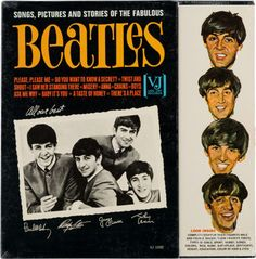 """""""Songs, Pictures and Stories of the Fabulous Beatles"""", 1964 mono LP sealed in original shrink wrap, up for auction at Heritage. Estimate $4000+."""