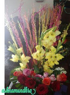 Flower arrangement..