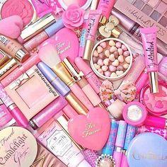 pink girly makeup - Google Search