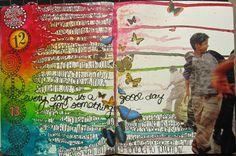 Art Journal Progression - November 13, 2011 | Today I added:… | Flickr