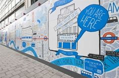 Primark opens new Oxford Street store Destination Branding, Hoarding Design, Signage Display, Window Signage, Communication, Guerilla Marketing, Outdoor Signs, Oxford Street, London Underground