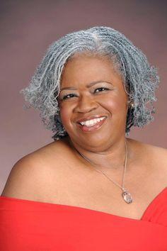 grey locs | Natural hairstyles with gray hair | Black Women Natural Hairstyles