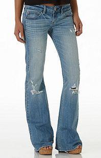 Destroyed Bell Bottom Jeans | Style | Pinterest | Bell bottom ...