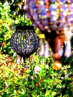 large beaded lanterns