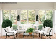 I thought this was a sunroom but the description says it is a screened porch. It's perfect.