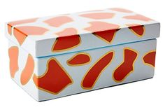8x5 Giraffe Print Box on OneKingsLane.com