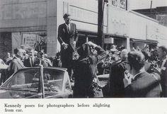 1962. Octobre. President Kennedy. Monessen