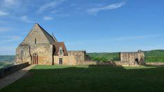 Esplanade et chapelle / Château de Beynac, Dordogne -- 24 avril ...