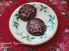 Chocolate peppermint cookie from @Pillsbury stuffed with a York Peppermint Patty!