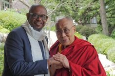 Forest Whitaker and * His Holiness XIV. Dalai Lama 2017 június