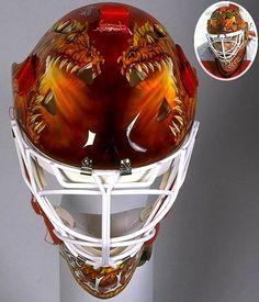 Trevor Kidd - Calgary Flames (1992-97) - Top 10 NHL Goalie Masks of the '90s - Photos - SI.com