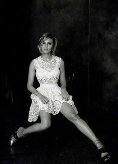 Scarlett Johansson for Vogue China April 2011