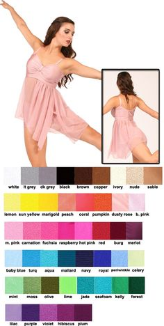 80212 - Lyrical Pumpers Dancewear
