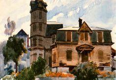 Victorian House - Edward Hopper