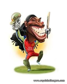 Cricket ©: A Caricature of Cricketer Christopher Henry ('Chris') Gayle (West Indies). Ipl 2017, Comedy Pictures, Cricket Sport, Celebrity Caricatures, Sports Art, Scene Photo, West Indies, Cartoon Images, Funny Quotes