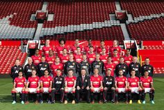 16 September 2014 MUFC 2014/15 Squad