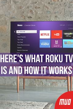 Here's What Roku TV Is and How It Works --- A Roku device can turn any television into a streaming media machine. It's time to learn what Roku is and which set-top box or Roku smart TV dongle would be perfect for you. Tv Hacks, Netflix Hacks, Streaming Stick, Tv Streaming, Tv Without Cable, Cable Tv Alternatives, Tv 40, Free Internet Tv, Free Tv And Movies