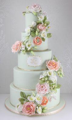 Gorgeous! #WeddingCake