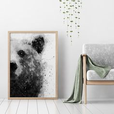 This black and white abstract painting portrays an adorable bear in a semi-gloss style. Watercolor technique fully brings out the fluffy forms of this delightful animal. For those of you with strong self-confidence, the bear is an excellent symbol of such Graffiti Designs, Wall Art Designs, Black And White Abstract, White Art, Abstract Animals, Abstract Art, Abstract Painting Techniques, Bear Paintings, Bear Art