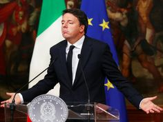 The Italian Prime Minister Matteo Renzi has resigned after suffering a heavy defeat in a referendum over his plan to reform the constit. Prime Minister, Fictional Characters, Image, Julius Caesar, Europe, Bill Of Rights, Italy, Night, Fantasy Characters