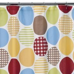 $34.99 Dwell Studio Dot Fun Shower Curtain