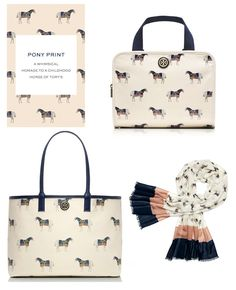 Equestrian Chic: Tory Burch Pony Print Favorites for Fall - Horses & Heels