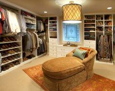 Home Decor Traditional Closet.
