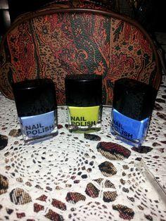Smalti!!:-)...#nails#art#nailpolish#vernice#makeup#kiko#h&m#