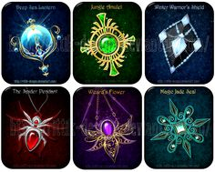 DO NOT edit, trace, copy or repost these designs! They belong to people who bought them. Deep Sea Lantern - sold to Rain-Courage Jungle Amulet - sold to Stubbornkizer Winter Warrior's Shield - sold...