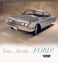 1960 Ford Starliner hardtop | Flickr - Photo Sharing!