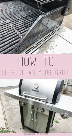 Are you ready for backyard BBQs? My hack for cleaning your grill makes it super easy!