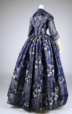 Met museum.org fashion  | Dress ca. 1842 | 1840s Fashion
