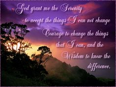 Serenity Prayer #infertility #faith #inspiration #encouragement