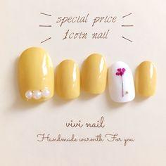 Nail Art Diy, Diy Nails, Swag Nails, Subtle Nail Art, Japan Nail, Korean Nail Art, Pretty Toe Nails, Nail Charms, Spring Nail Art