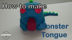 MONSTER TONGUE HOW TO MAKE MONSTER TONGUE / CARA MEMBUAT MONSTER TONGUE ...