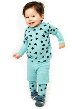 Joah Love — KEVIN Set in Baby Blue for Baby #baby #kids #fallclothes