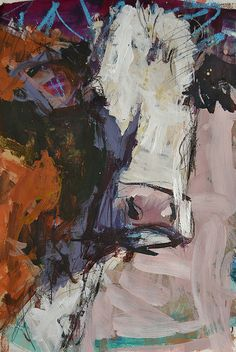 Modern Abstract Cow Painting Painting by Robert Joyner