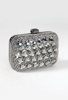 "Handbag features:• Box bag design• 22"" metal chain strap • Inner pocket• Fully lined"