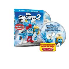 The Smurfs 2 [2 Discs] [Includes Digital Copy] [UltraViolet] [Blu-ray/DVD]