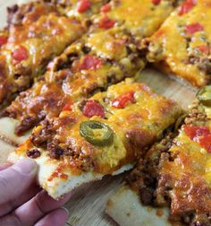Mmm… Taco Pizza a combo that just can't be beat! What could be better than combining awesome foods like tacos and pizza?  Being able to make a taco pizza at home, in a little over half an hour, with ease and great taste. This recipe is part of a campaign for McCormick Skillet Sauces incentives …