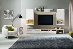 Lumio Wall Unit in Composition 1 by Mod Manhattan