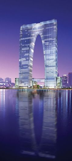 Gate of the Orient, Suzhou, China by RMJM Architects :: 68 floors, height 301m