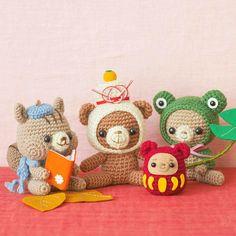 本日も歳時型コレクションからオススメをご紹介致します〜💕🤗🎉 ・ ・ 簡単な「くさり編み」と「こま編み」だけで作れて、編みやすい毛糸の太さと、気軽にトライできる手のひらサイズなのでかぎ針編み初心者さん - couturier_by_felissimo