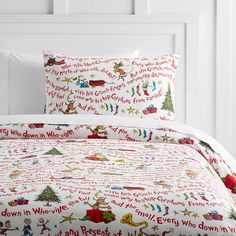Flannel duvet cover the grinch and grinch on pinterest