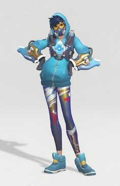 This is literally my favorite skin in the game, it makes me want to play tracer more! Graffiti