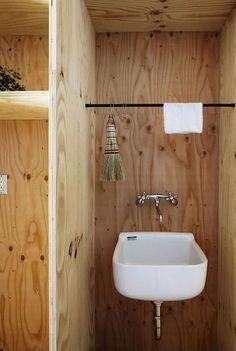 さらりとかけられているミニ箒と雑巾!掃除用品まで美しい、日本の誇りです。