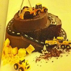 Donna hay construction mountain cake