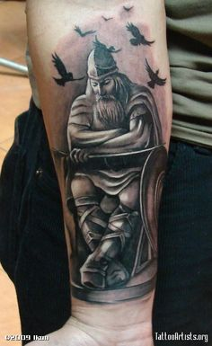 Norse Valkyrie Tattoo   viking 2www.bizzzarttattoo.ro