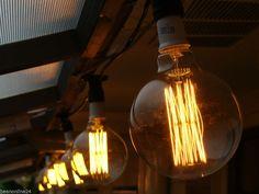 20 Piece Vintage Edison Festoon Party String Light Kit - Globes Included! in Home & Garden, Lighting, Fans, String Lights | eBay