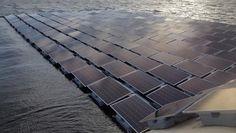 AgroA -- La granja solar flotante más grande de Europa se construye en Londres